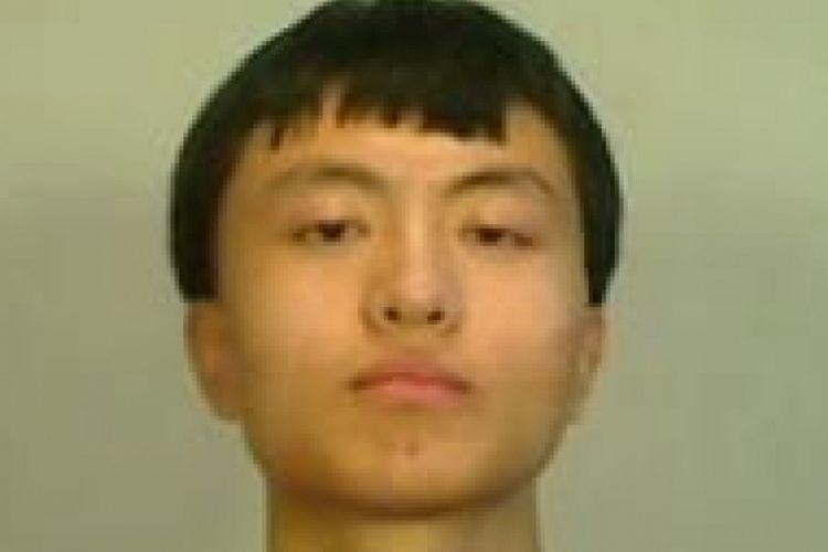 Zhao Qianli (20), pria China yang ditahan karena dituduh menerobos dan memotret area fasilitas militer AS di Key West, Florida.
