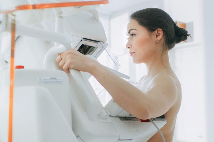 Ilustrasi deteksi kanker payudara