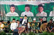 Ma'ruf Amin: Tak Ada Jokowi, maka Tak Ada Hari Santri Nasional