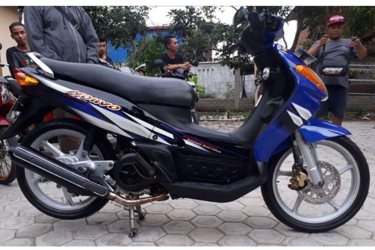 Yamaha Nouvo restorasi di Lombok