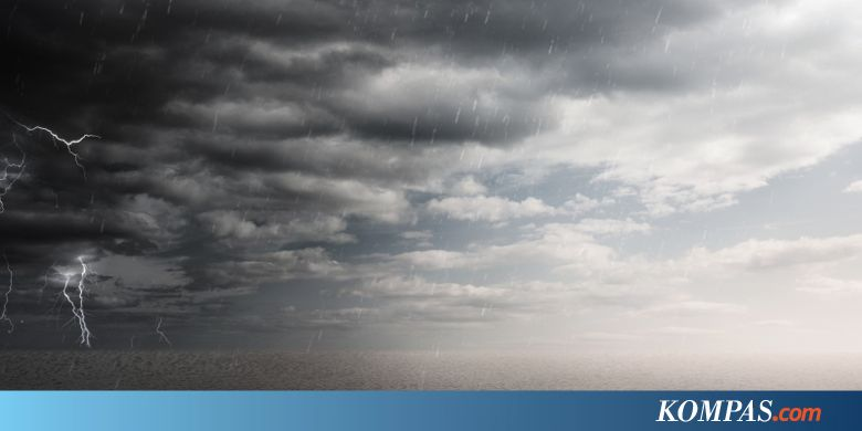 BMKG: Waspadai Hujan Disertai Petir di Jaksel dan Jakbar Sore Nanti