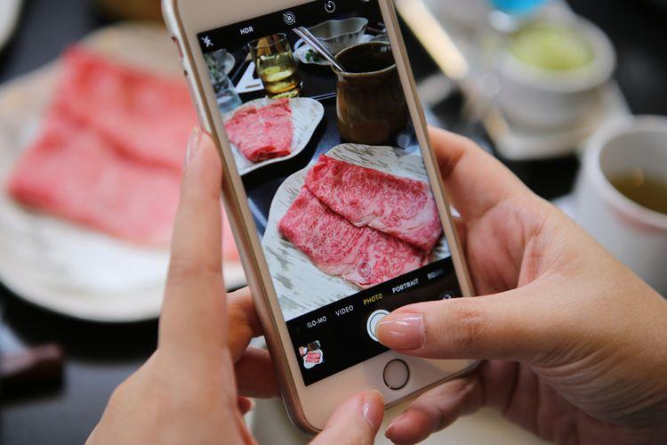 Pola marbling, -lemak intraotot, pada irisan omi hime beef membuatnya terasa lembut dan membutuhkan panas yang rendah untuk memasaknya, bahkan daging ini nikmat disantap mentah.