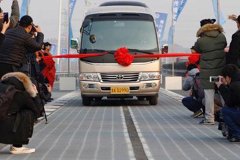 Baru Dibuka Lima Hari, Jalan Tol Berpanel Surya di China Sudah Dicuri
