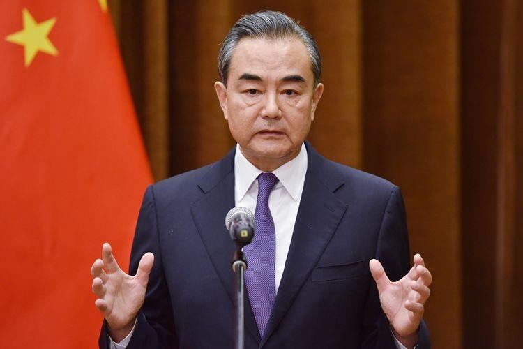 Menteri Luar Negeri China Wang Yi berbicara mengenai pertemuan tingkat tinggi antara Presiden AS Donald Trump dengan Korea Utara Kim Jong Un.