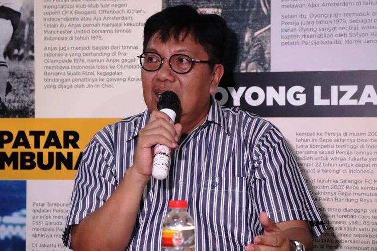 Mantan Direktur Utama Persija Jakarta, Gede Widiade.