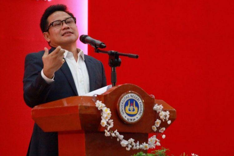 Muhaimin Iskandar meminta para generasi milenial untuk tetap memegang teguh ideologi Pancasila di tengah isu primordialisme yang menguat.