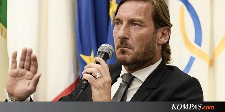Francesco Totti Tinggalkan AS Roma
