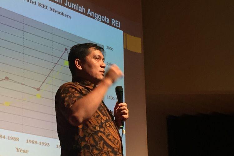 Dosen Kelompok Keahlian Perumahan Permukiman Sekolah Arsitektur Perencanaan dan Pengembangan Kebijakan (SKPPK) Institut Teknologi Bandung (ITB) Jehansyah Siregar.
