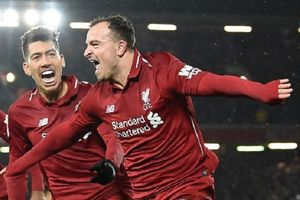 Liverpool Vs Man United, 2 Gol Shaqiri Bawa The Reds Puncaki Klasemen