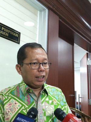 Sekretaris Jenderal PPP Arsul Sani di kompleks parlemen, Rabu (9/1/2019).
