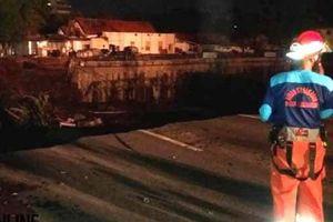 BMKG: Jalan Gubeng Surabaya Ambles Bukan karena Gempa