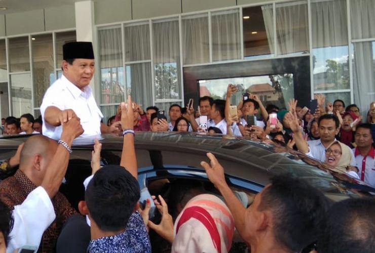 Prabowo: Banyak yang Membenci Saya