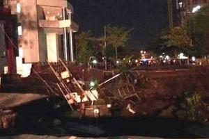 Kronologi Amblesnya Jalan Raya Gubeng Surabaya