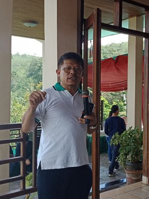 Pakar Gizi dan Keamanan Pangan Institut Pertanian Bogor (IPB), Prof. Ir. Ahmad Sulaeman, MS, PhD pada acara Jelajah Gizi 2018, Jumat (20/4/2018).