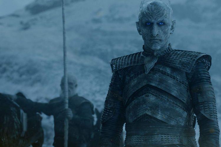 Vladimir Furdo Furdik sebagai Night King dalam Game of Thrones.