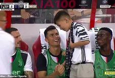 Bocah Singapura Duduk di Bangku Cadangan Juventus bersama Ronaldo