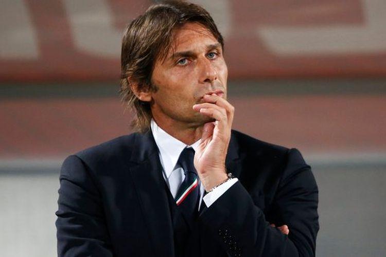 Antonio Conte berpeluang ambil alih kursi kepelatihan Allegri di Juventus, Kamis (18/4/2019)