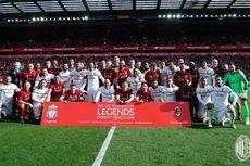 Liverpool Legend Vs AC Milan Glorie, Gerrard Bawa The Reds Menang