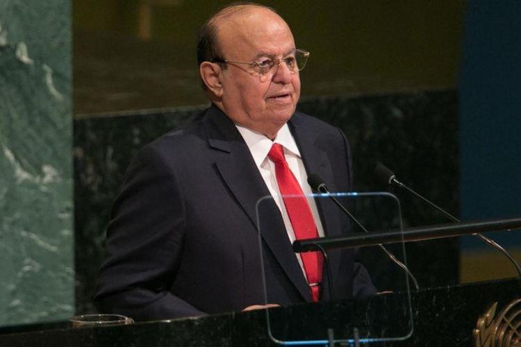 Presiden Yaman Abdrabbuh Mansour Hadi.