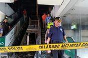 Olah TKP Kebakaran Matahari Kudus, Polisi Bawa Pulang Kabel