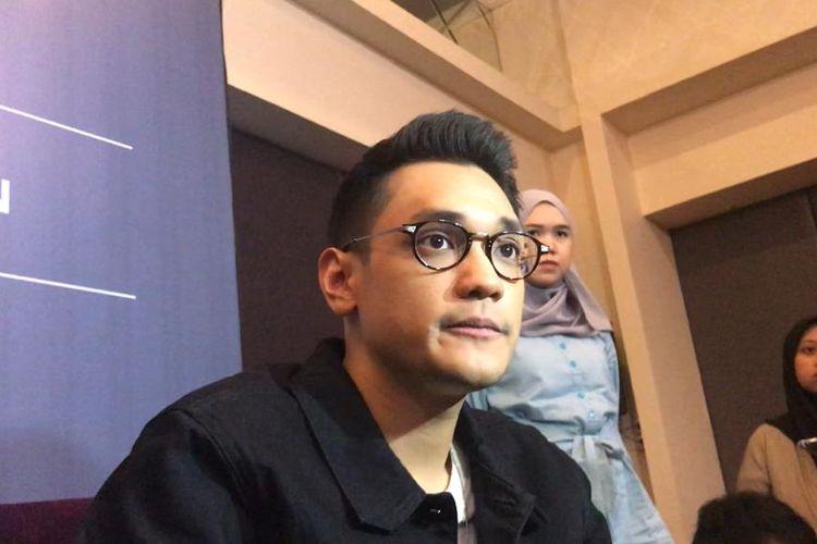 Penyanyi solo Afgan Syahreza saat ditemui dalam jumpa pers di kawasan Kemang, Jakarta Selatan, Rabu (19/6/2019).