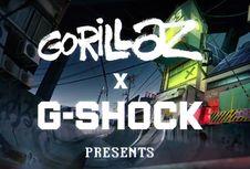 G-Shock dan Gorillaz Bikin Arloji Kolaborasi dalam DW5600