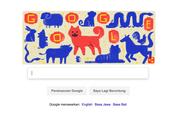 Tahun Baru Imlek, Google Rayakan dengan 'Doodle' Anjing