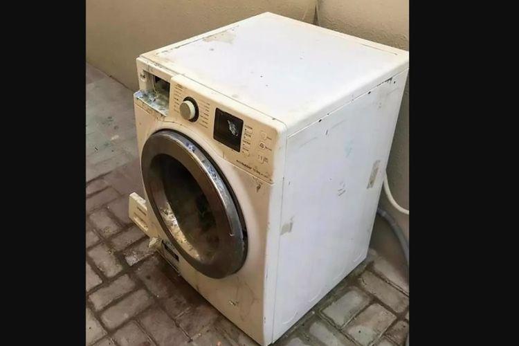 Mesin cuci tempat seorang bocah berusia empat tahun tewas tenggelam di kediaman keluarganya di Uni Emirat Arab.