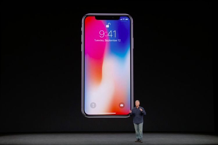 iPhone X dirilis Selasa (12/9/2017).
