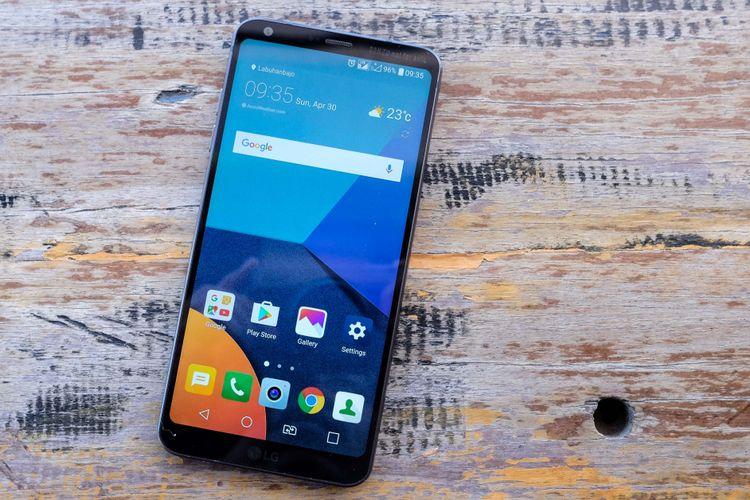 LG G6 tampak depan