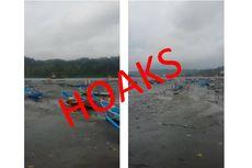 [HOAKS] Pesan Soal Air Laut Surut 20 Meter di Pesisir Cilacap
