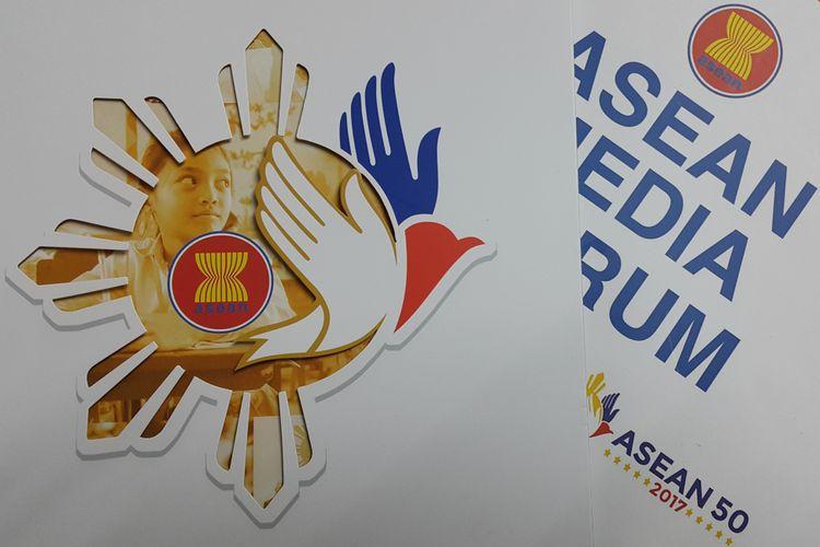 Logo ASEAN 50 Tahun.