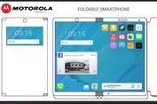 Motorola Patenkan Ponsel Layar Lipat yang Bisa Jadi Tablet