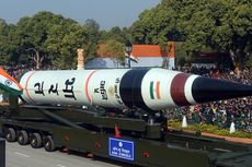 Misil Balistik India Kini Diyakini Mampu Jangkau Seluruh Daratan China