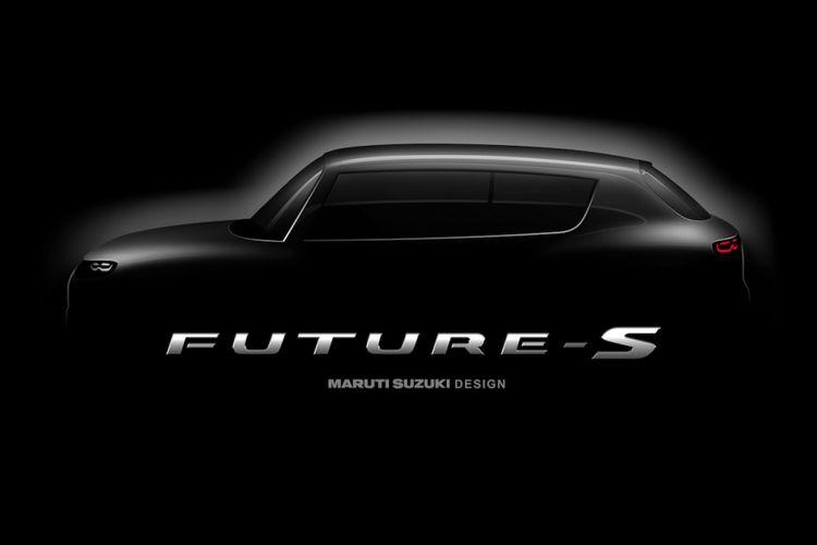 Foto penggoda model konsep Future S yang akan mendebut di Auto Expo 2018 di India.
