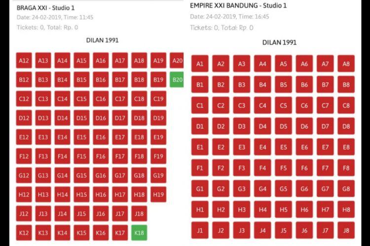 Respons positif terhadap film Dilan 1991 diberikan para penggemarnya. Buktinya, ketika baru saja dibuka pada Kamis (14/2/2019), penjualan tiket online untuk gala premiere film Dilan 1991 langsung ludes untuk beberapa jam pemutaran di seluruh bioskop yang ada di Bandung.
