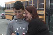 Sopir Mendadak Sakit, Siswa 13 Tahun Ambil Alih Kemudi Bus