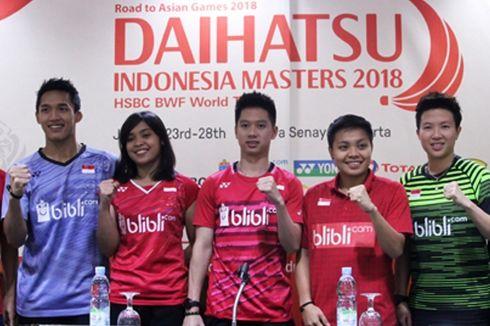 Indonesia Turunkan Tim Lengkap di Indonesia Masters