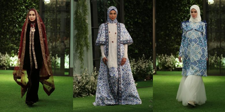 Koleksi Hijab Mandjha Edisi Lebaran Dari Ivan Gunawan Kompas Com