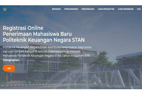 Pendaftaran PKN STAN Diperpanjang, Ini Informasinya...