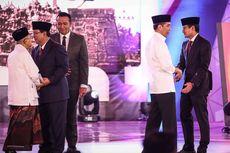 Saksikan Debat Cawapres, Jokowi dan Megawati Tiba di Hotel Sultan