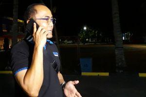 Andro Si K9 Milik Bea Cukai Kelelahan Mengendus Kapal  Win Long BH 2998