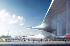 Atap Gedung Opera Shanghai Didesain Menyentuh Tanah