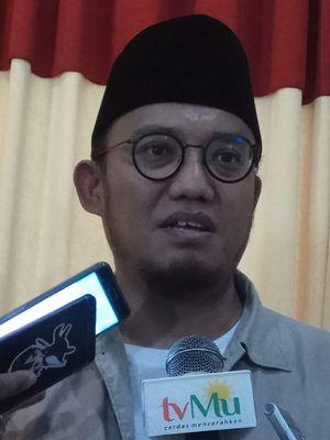 Ketua Pimpinan Pusat Pemuda Muhammadiyah, Dahnil Anzar Simanjuntak Saat Ditemui di Gedung Dakwah PP Muhammadiyah, Jakarta, Jumat (22/2017).