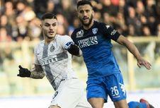 Hasil Liga Italia, Inter Milan dan AS Roma Raih Tiga Poin