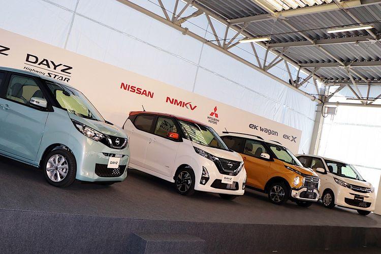 Nissan-Mitsubishi luncurkan kei car kembar di Jepang