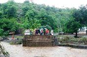 Banjir Rendam Sejumlah Desa di Bima, Satu Jembatan Ambruk