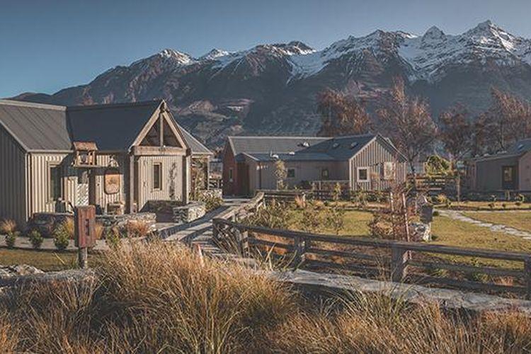 Akomodasi ramah lingkungan di Selandia Baru.