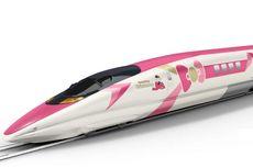 Akhir Tahun Ini, Kereta Shinkansen Bertema Hello Kitty Rilis di Jepang