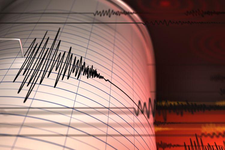 Ilustrasi gempa, gempa Banten